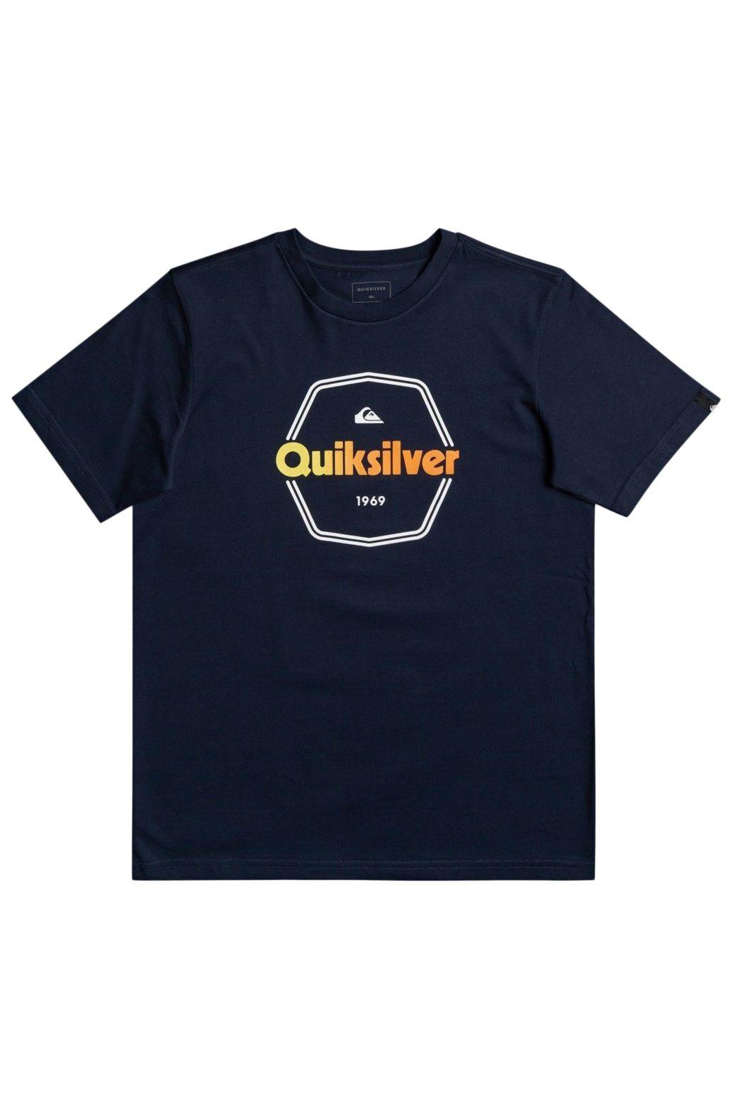 T-Shirt Quiksilver HARD WIRED Navy Blazer