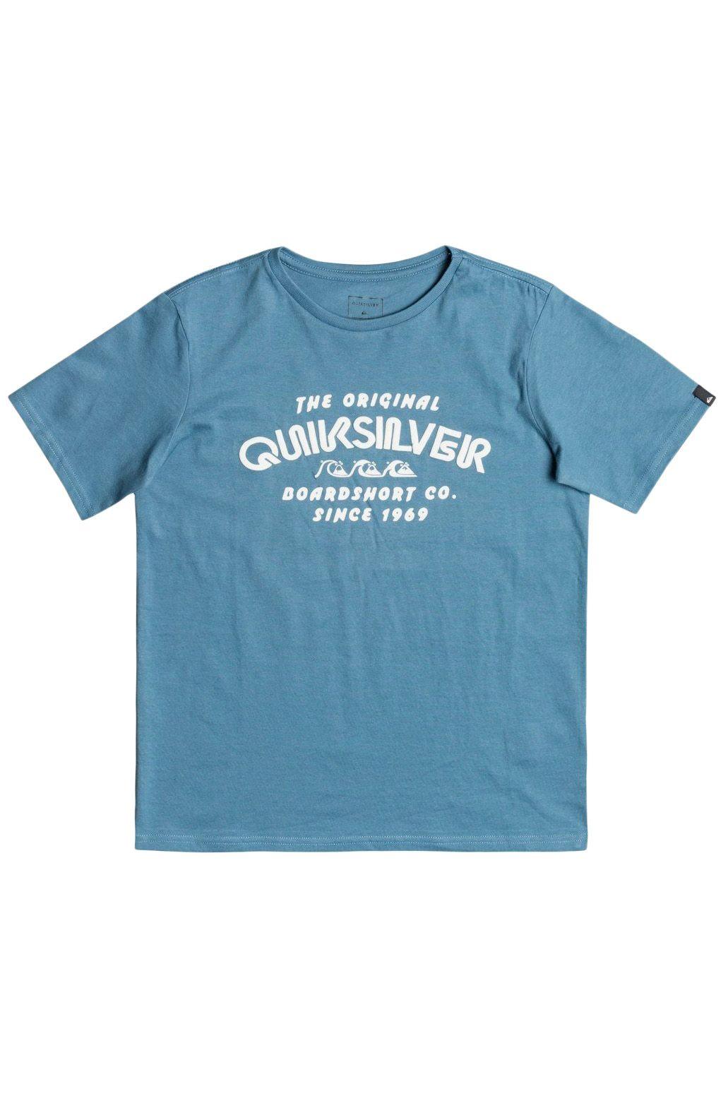 T-Shirt Quiksilver WILDER MILE Captains Blue
