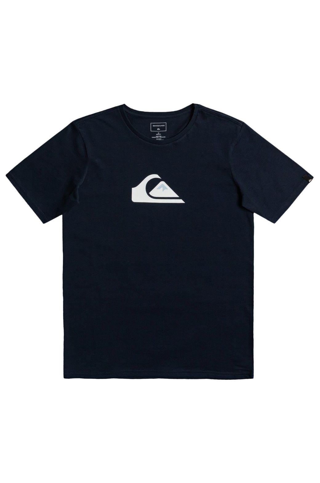 T-Shirt Quiksilver COMP LOGO Navy Blazer