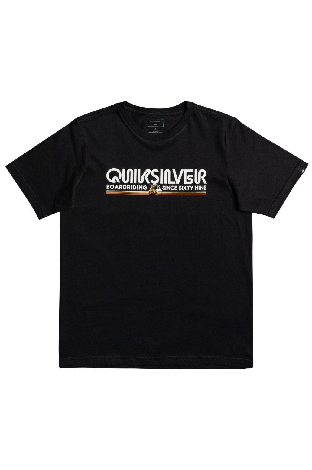 Quiksilver T-Shirt LIKE GOLD Black