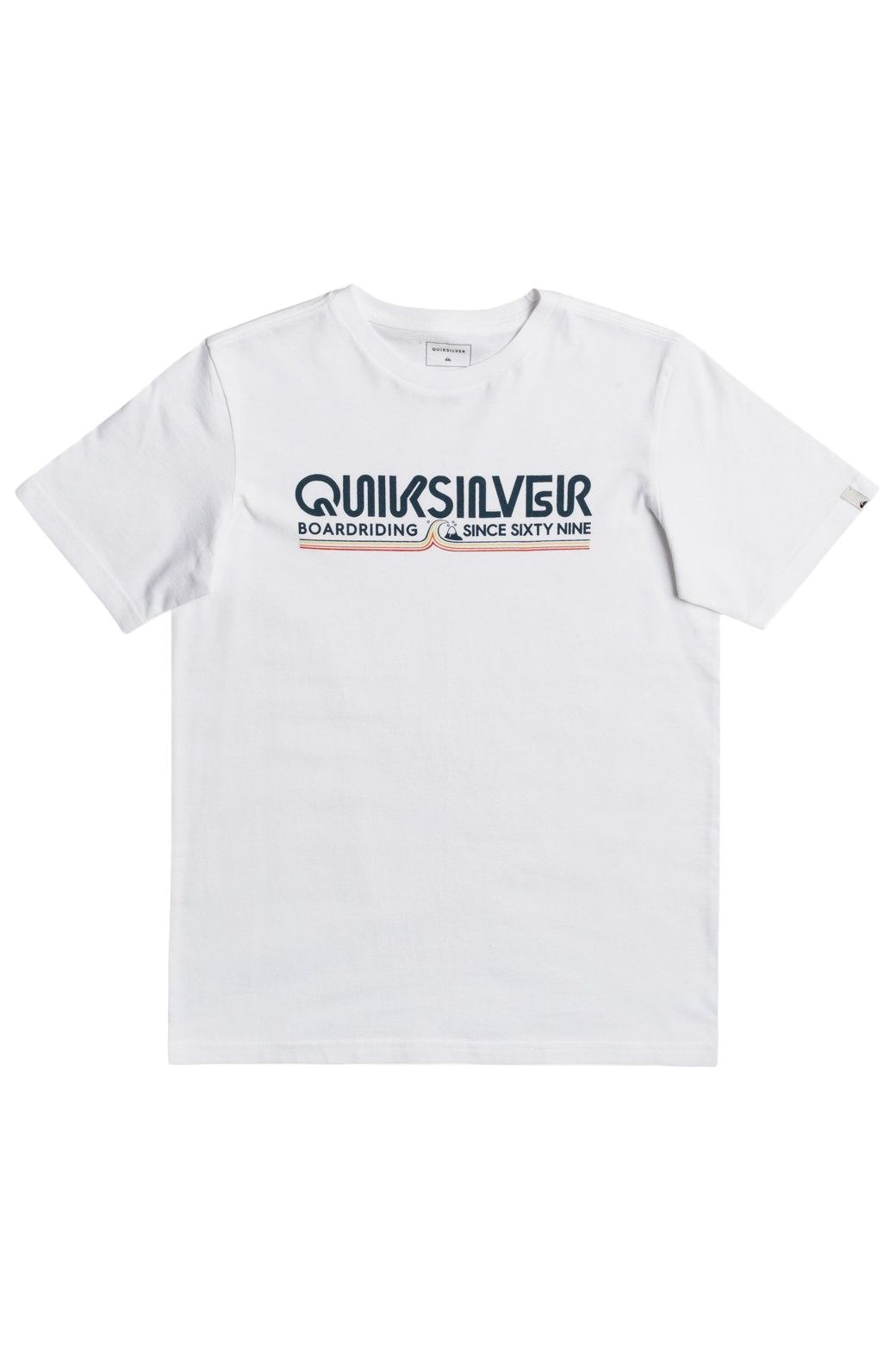 Quiksilver T-Shirt LIKE GOLD White