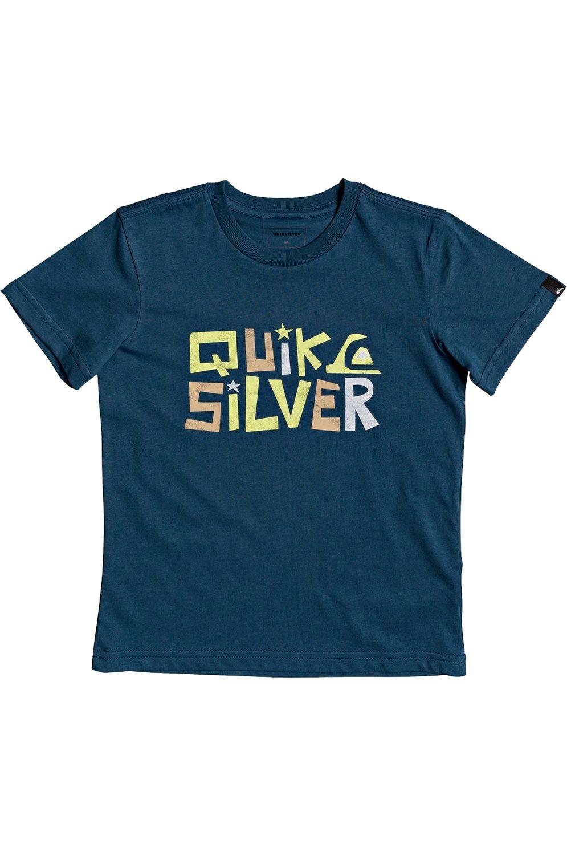 T-Shirt Quiksilver BIGPICTRSSBOY K Majolica Blue