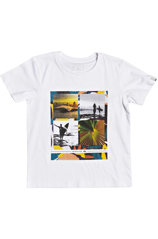 T-Shirt Quiksilver YYEARSSSBOY K White