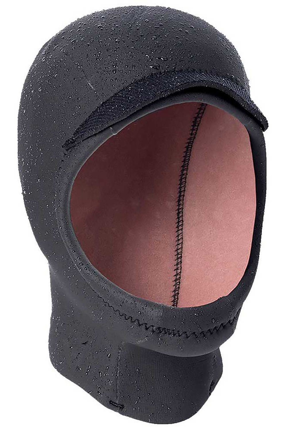Gorro Neoprene Rip Curl HEAT SEEKER 3MM OPEN FACE HOOD CHIN CUP Black
