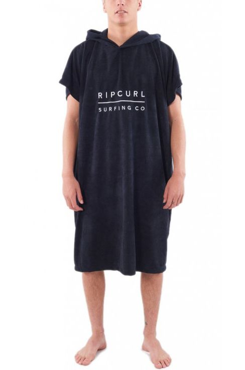 Poncho Rip Curl MIX UP HOODED TOWEL Black