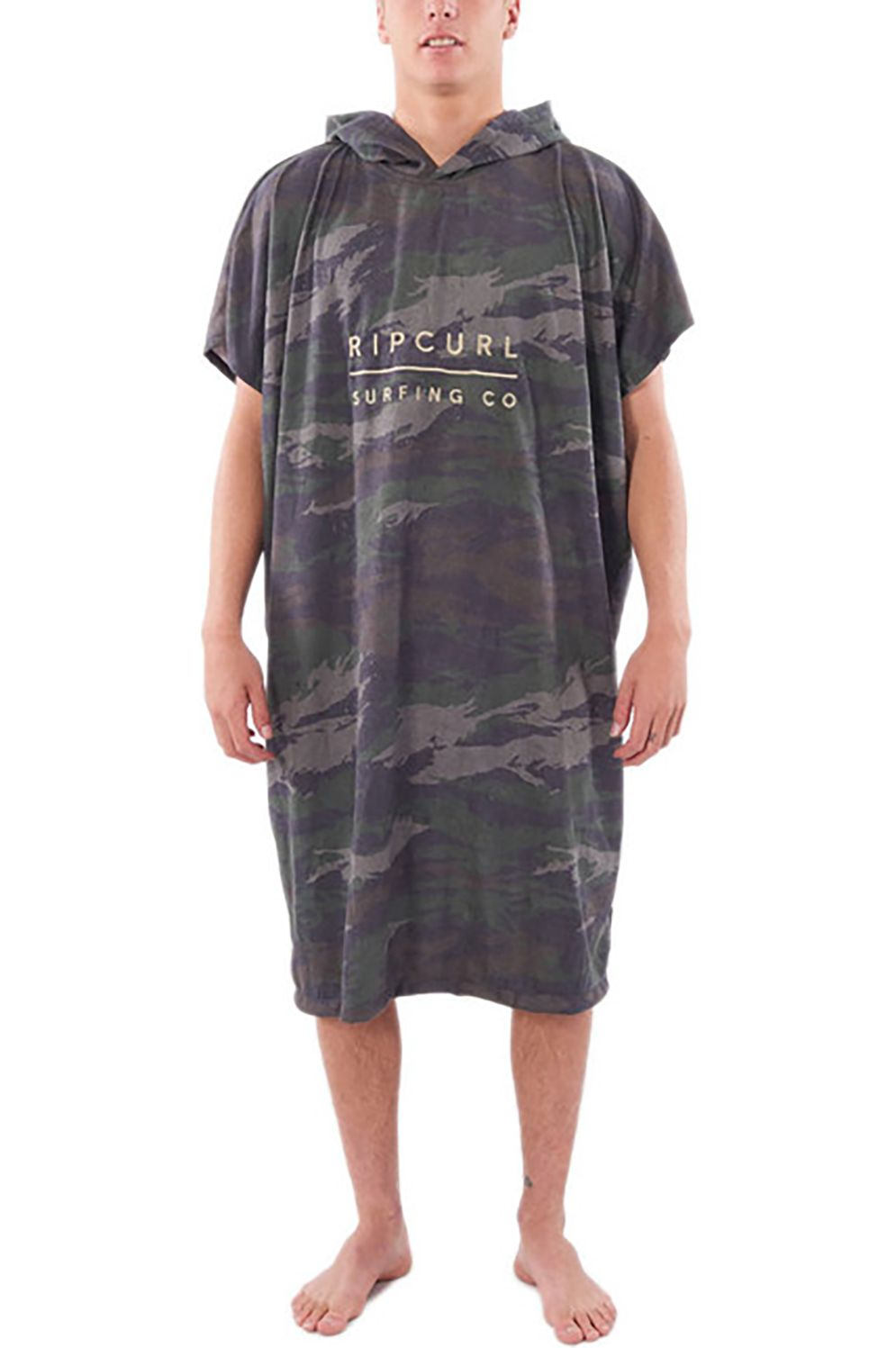 Poncho Rip Curl MIX UP HOODED TOWEL Green