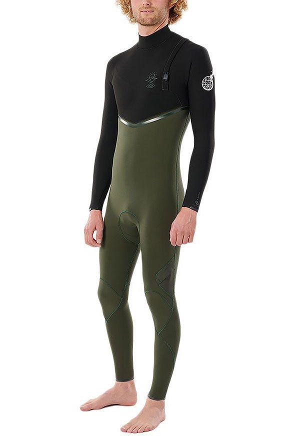 Rip Curl Wetsuit E BOMB 43GB Z/FREE STMR Olive Indefinido