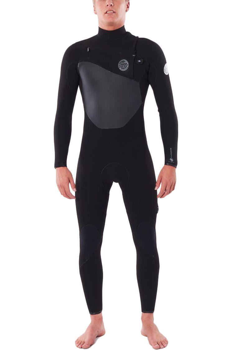 Rip Curl Wetsuit FLASHBOMB 43GB C/ZIP STMR Black 4x3mm