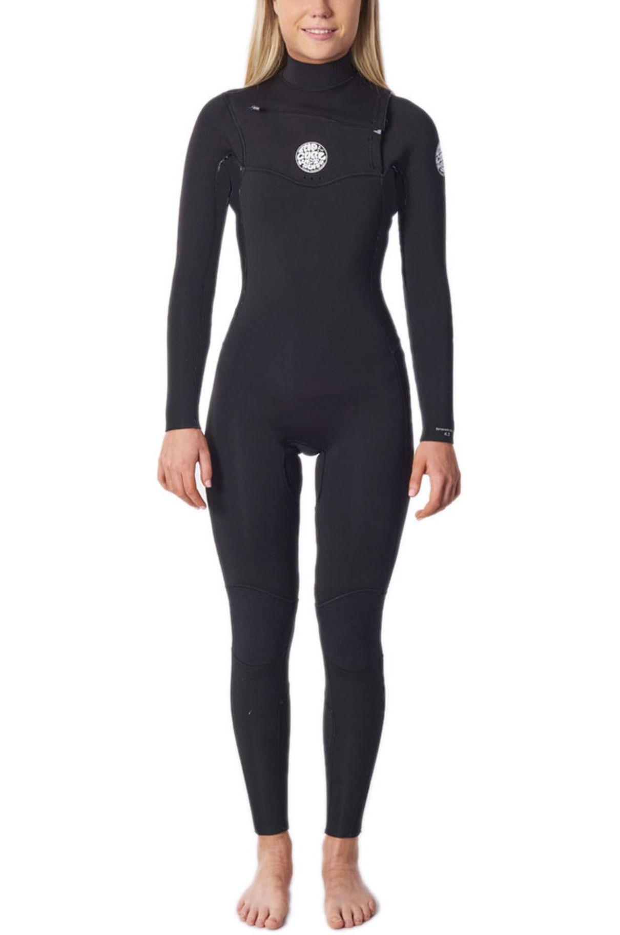 Rip Curl Wetsuit WMS DAWN PATROL 4/3 CZ GB Black 4x3mm