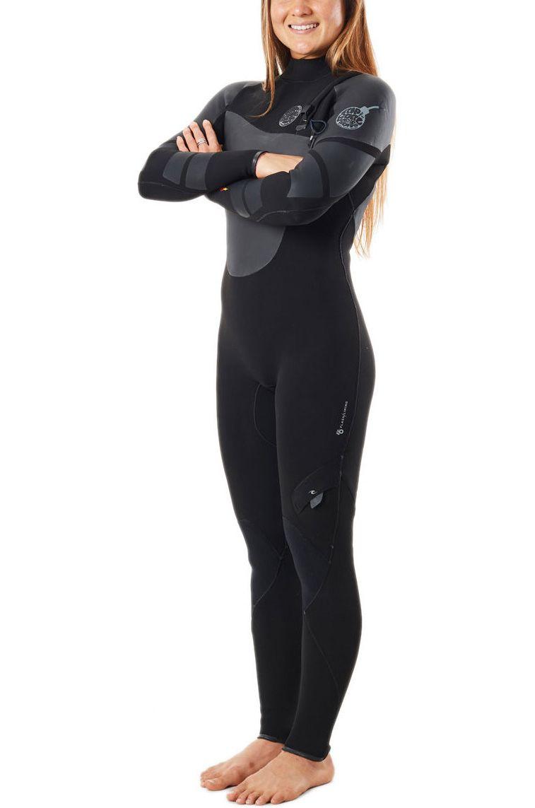 Rip Curl Wetsuit WMNS HEATSEEKER 4/3 Black 4x3mm