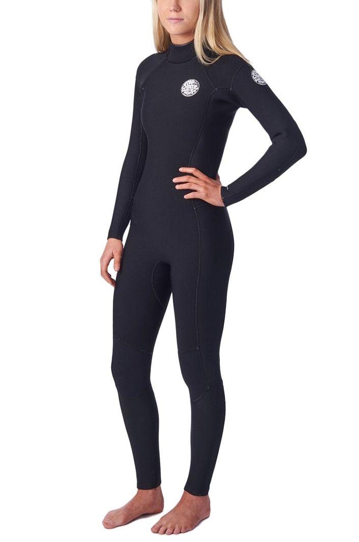 Rip Curl Wetsuit WMNS D/PATROL 3/2 BZ Black 3x2mm