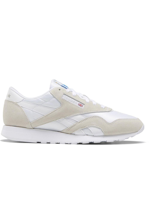 Reebok Shoes CL NYLON White/Light Grey/None