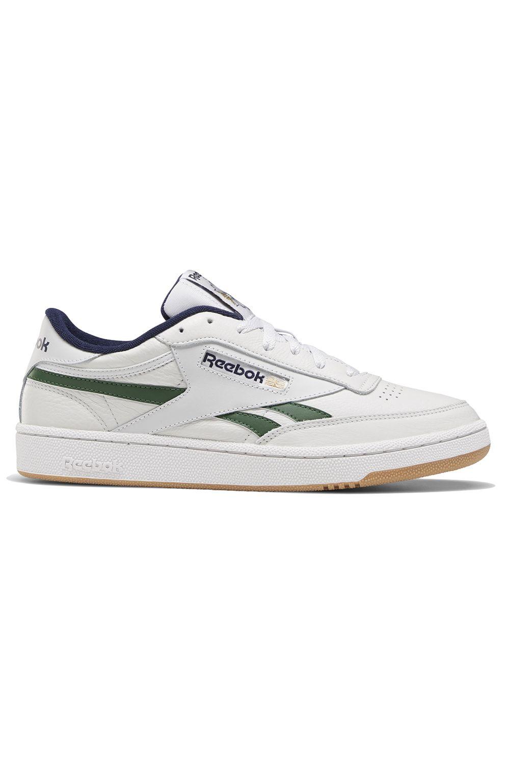 Reebok Shoes CLUB C REVENGE Porcelain/Utility Green/Vector Navy