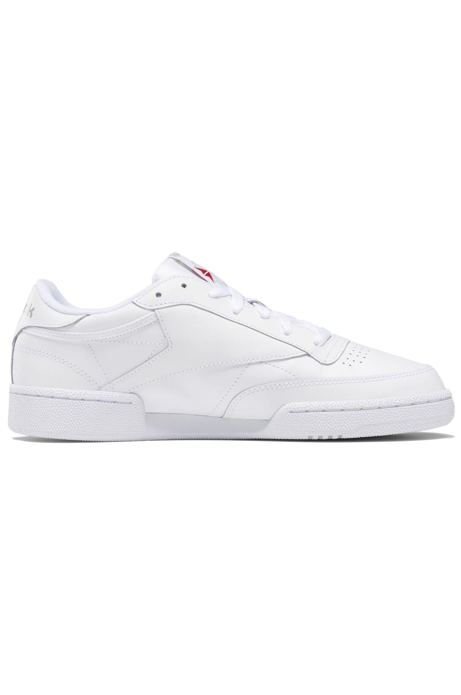 Tenis Reebok CLUB C 85 Int-White/Sheer Grey