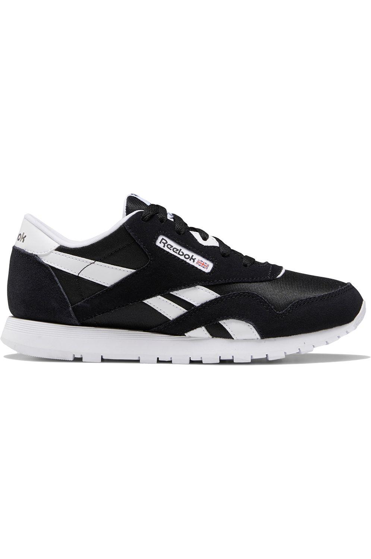 Reebok Shoes CL NYLON Black/Black/White