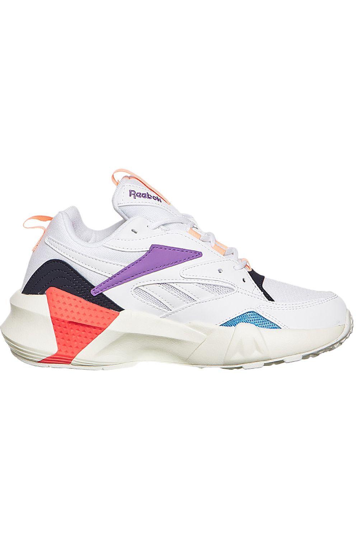 Reebok Shoes AZTREK DOUBLE NU POPS White/Grape Punch/Bright