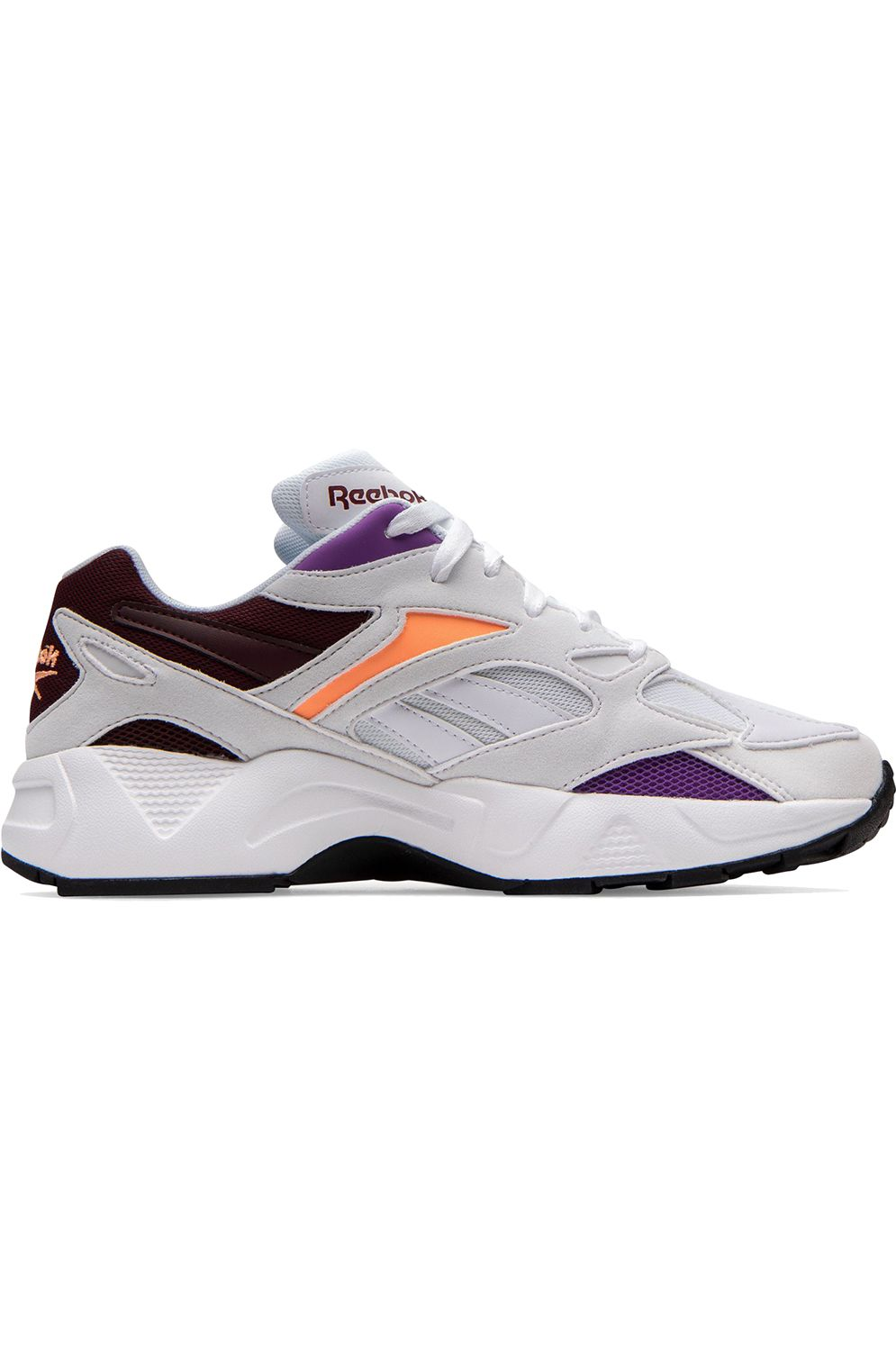 Reebok Shoes AZTREK 96 White/Porcelain/Maroon