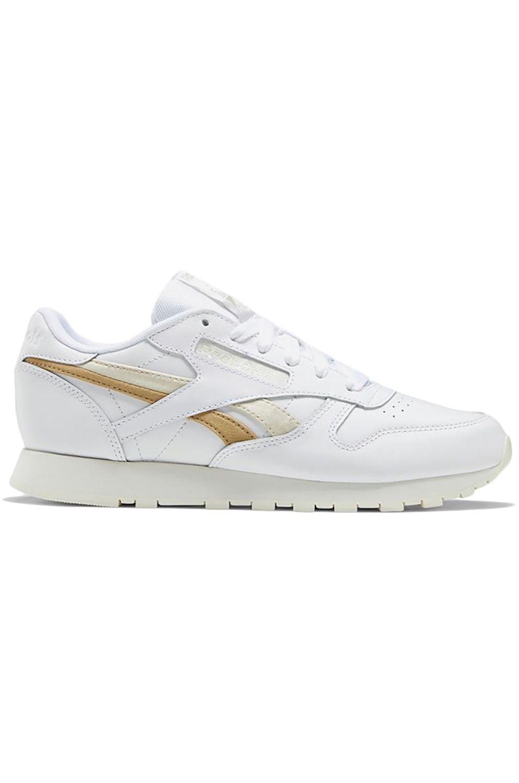 Reebok Shoes CL LTHR White/Alabaster/Utility Beige