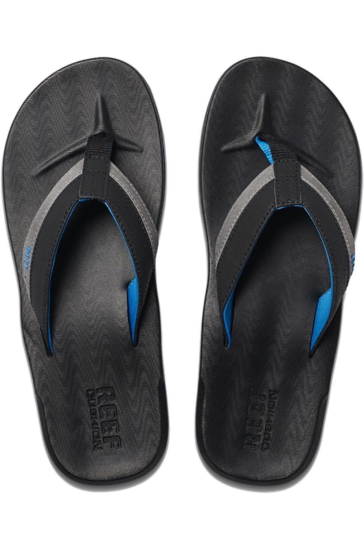 Reef Sandals CONTOURED CUSHION Black/Grey/Blue