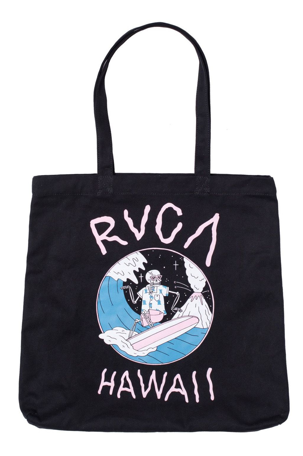 RVCA Bag  LUKE P SURF TOTE LUKE PELLETIER Black