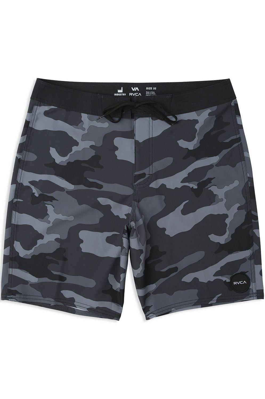 RVCA Boardshorts TRUNK PRINT Charcoal Black