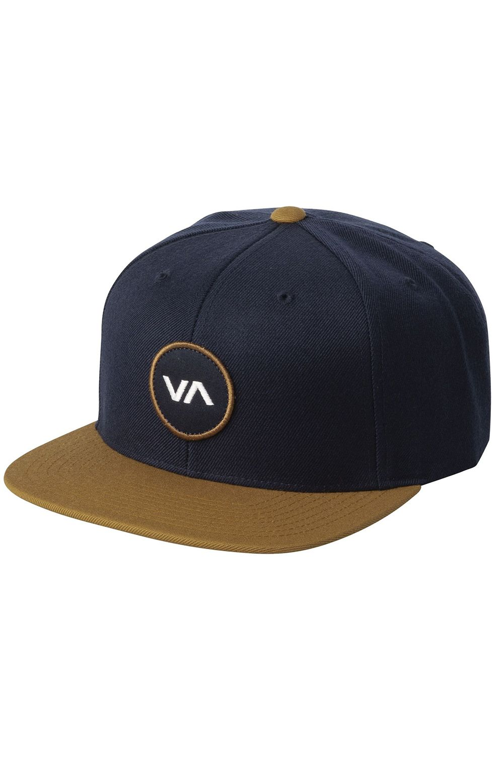 Bone RVCA VA PATCH SNAPBACK Navy/Khaki