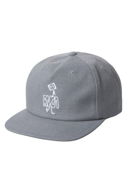 Bone RVCA STRIKE SNAPBACK Grey