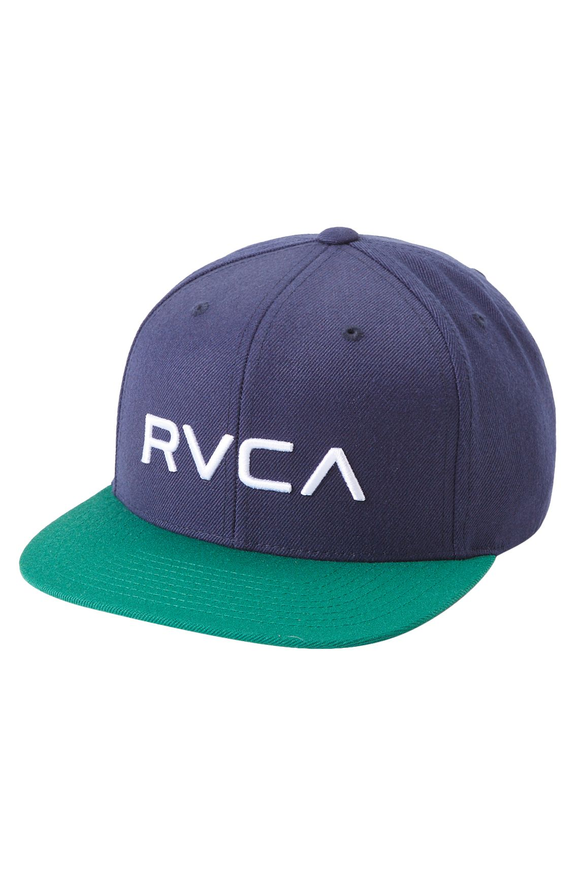 Bone RVCA RVCA TWILL SNAPBACK Navy/Green