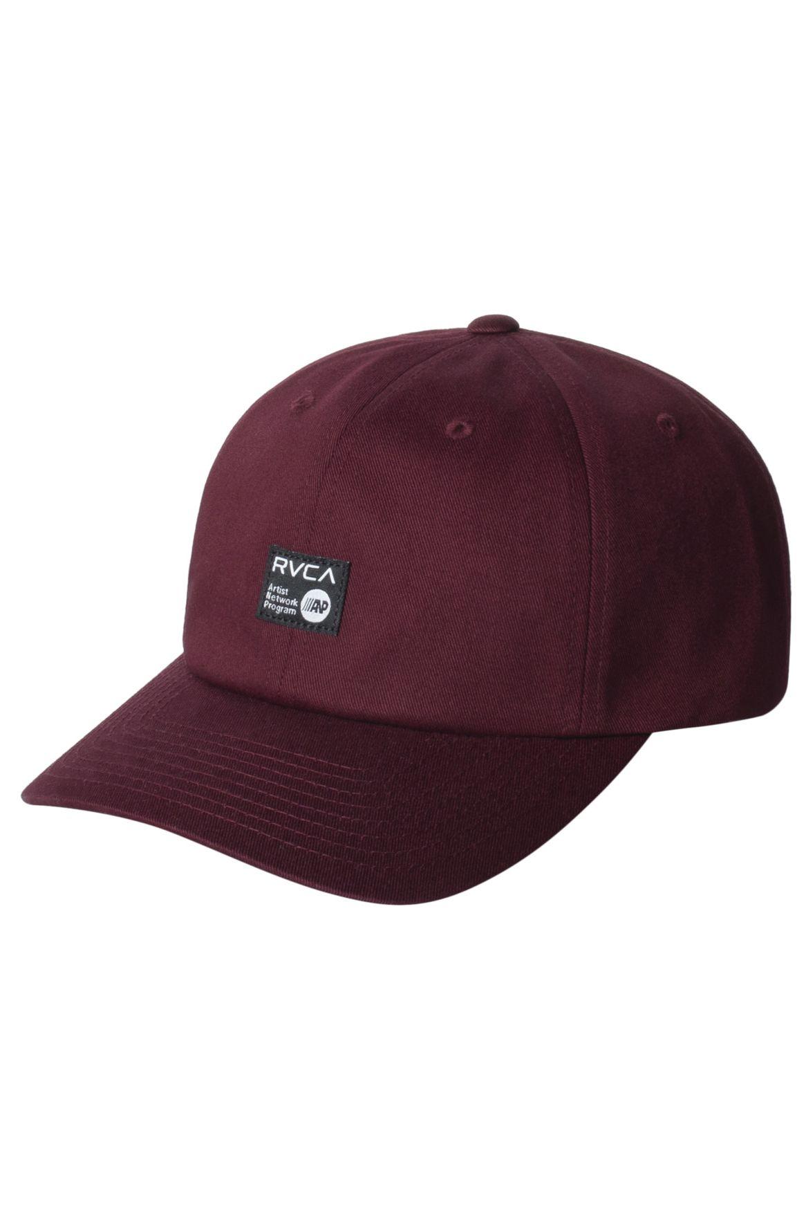 Bone RVCA ANP CAP Oxblood Red