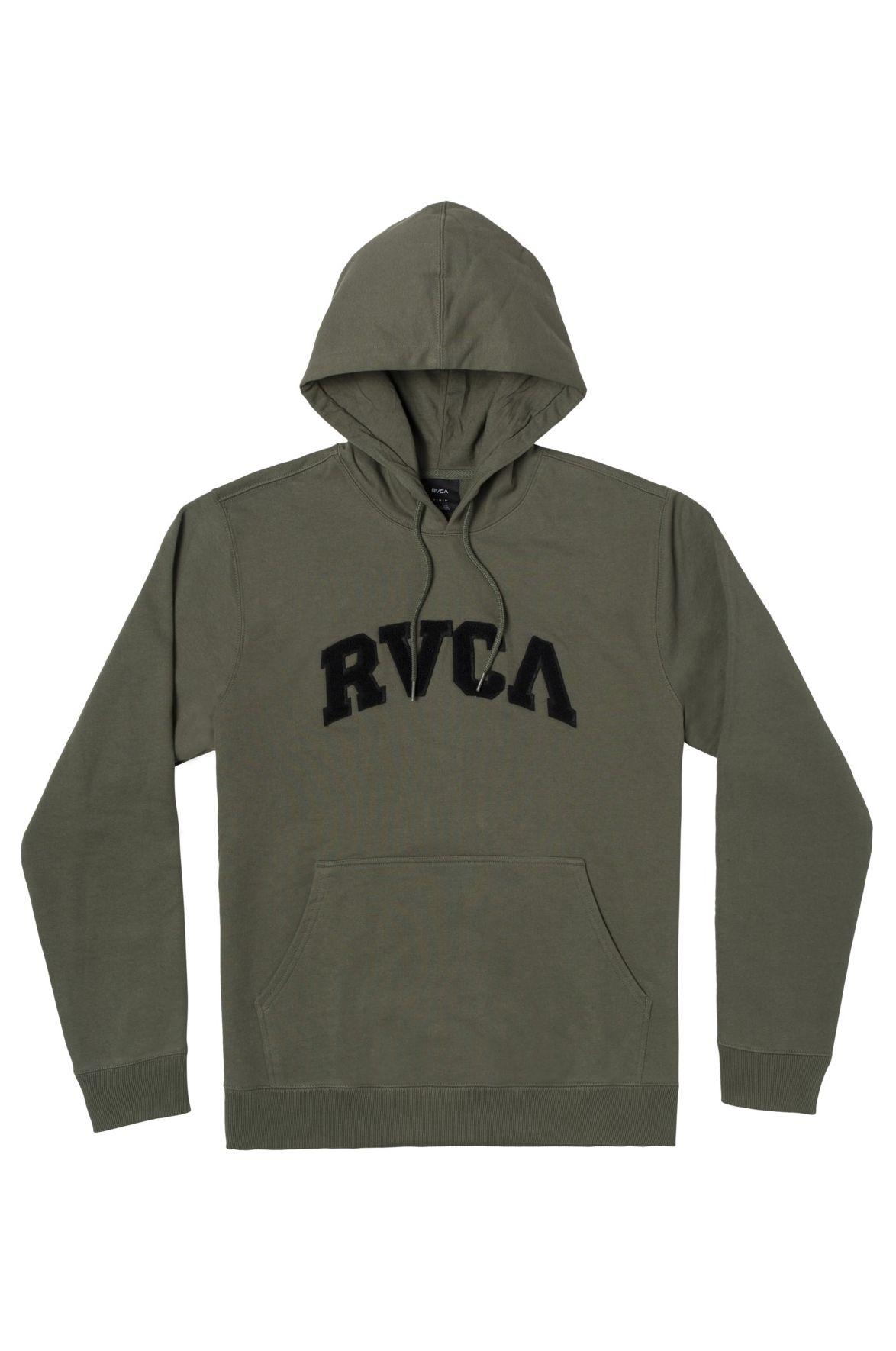 Sweat Capuz RVCA CONCORD APPLIQUE HOO Cactus