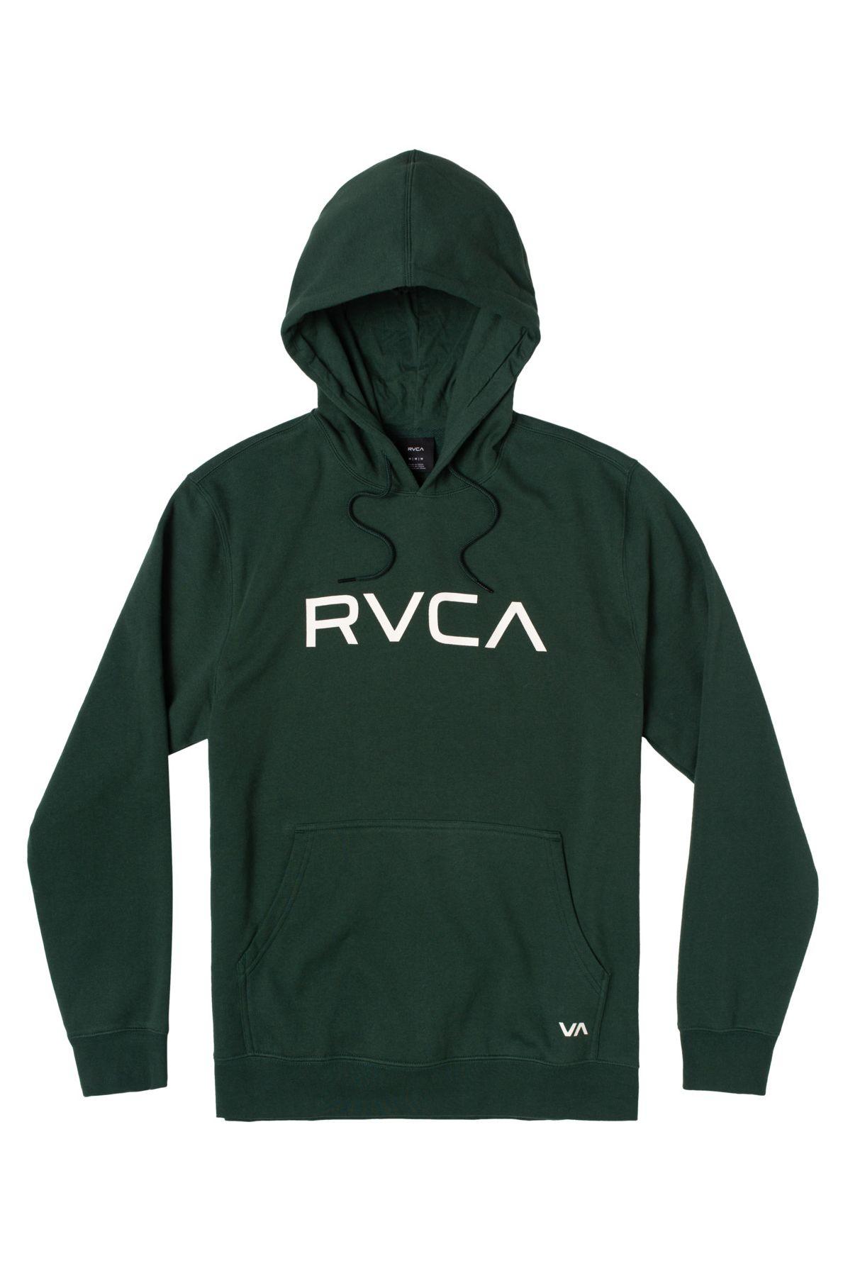 RVCA Sweat Hood BIG RVCA Hunter Green