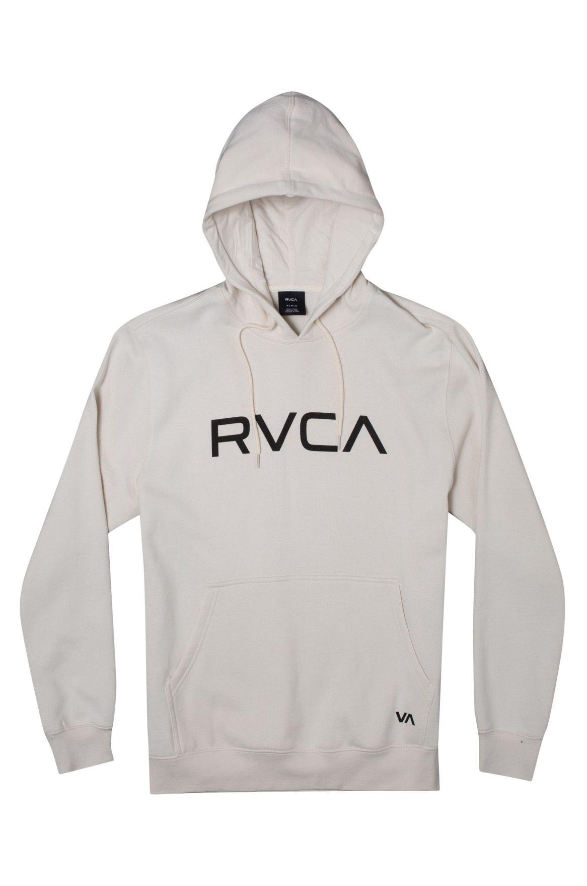 RVCA Sweat Hood BIG RVCA Silver Bleach