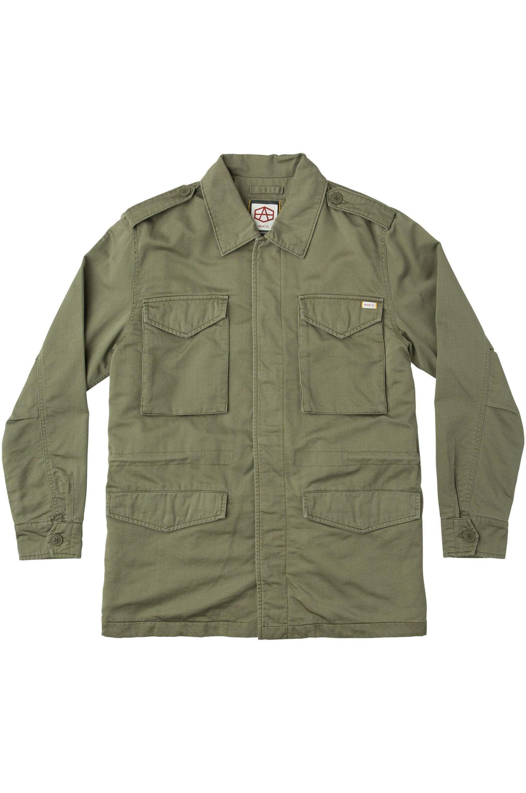 Blusão RVCA ANDREW REYNOLDS M65 Olive