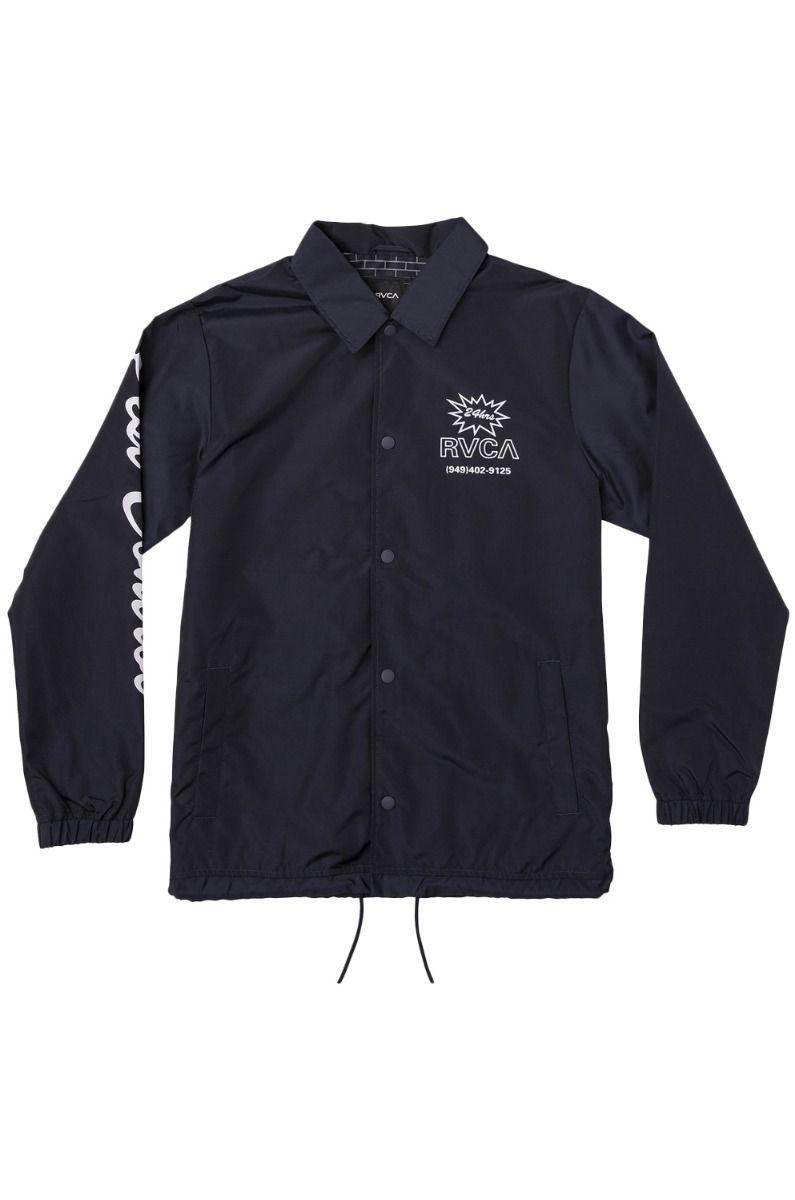 RVCA Jacket BERNI COACHES New Navy