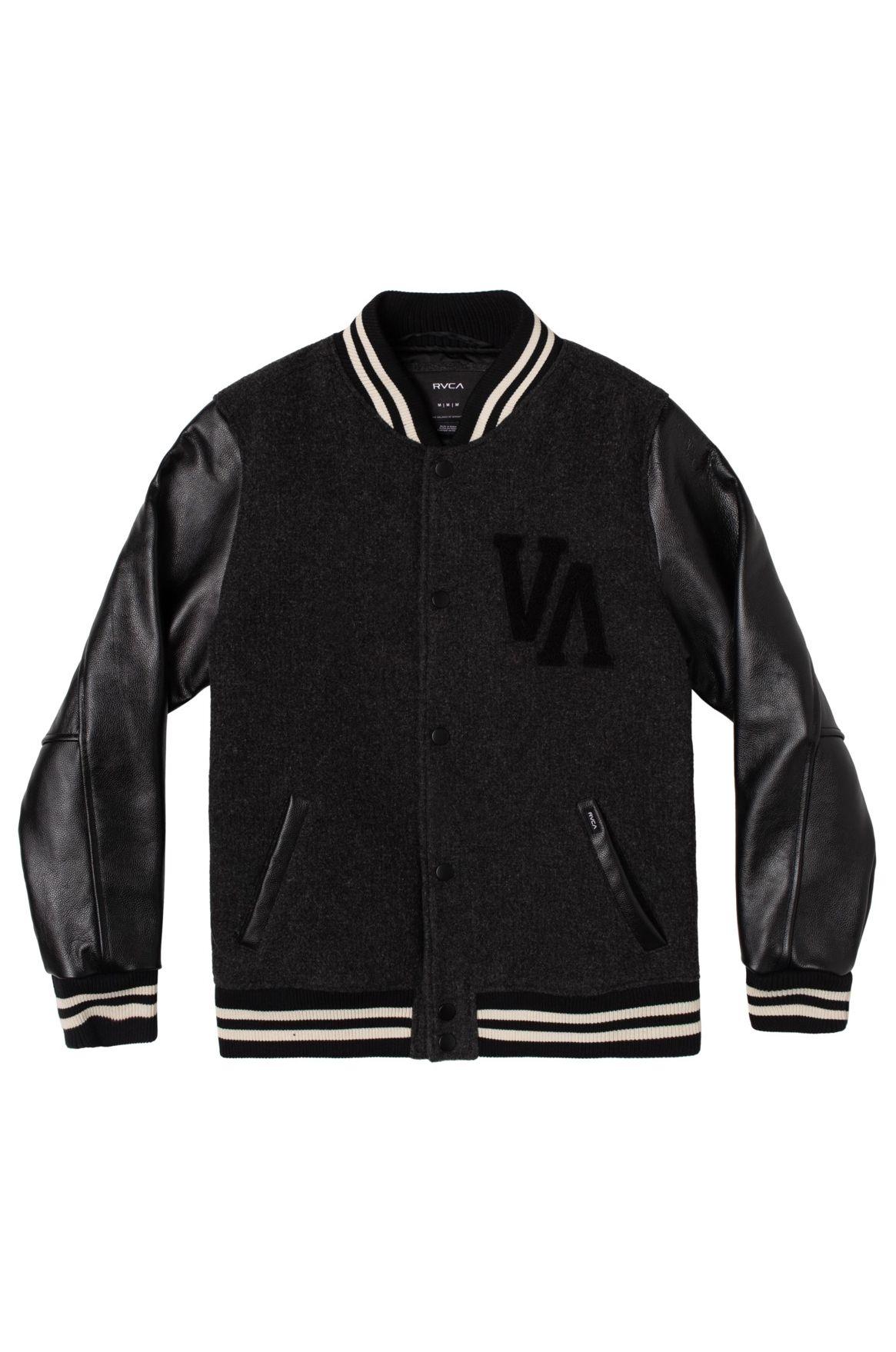 RVCA Jacket JUNIOR VARSITY LETTE Rvca Black