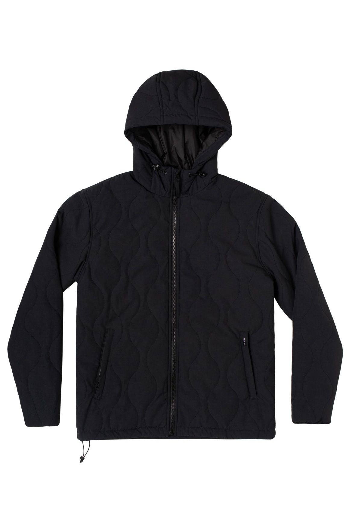 RVCA Jacket YARI PACKABLE JACKET Black