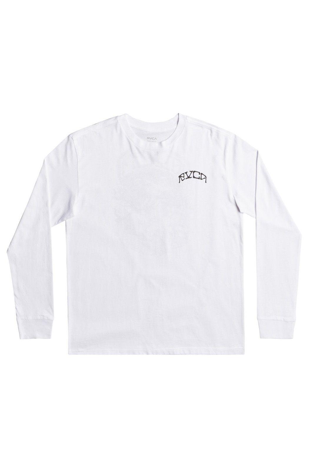 RVCA L-Sleeve ST MARGRET White