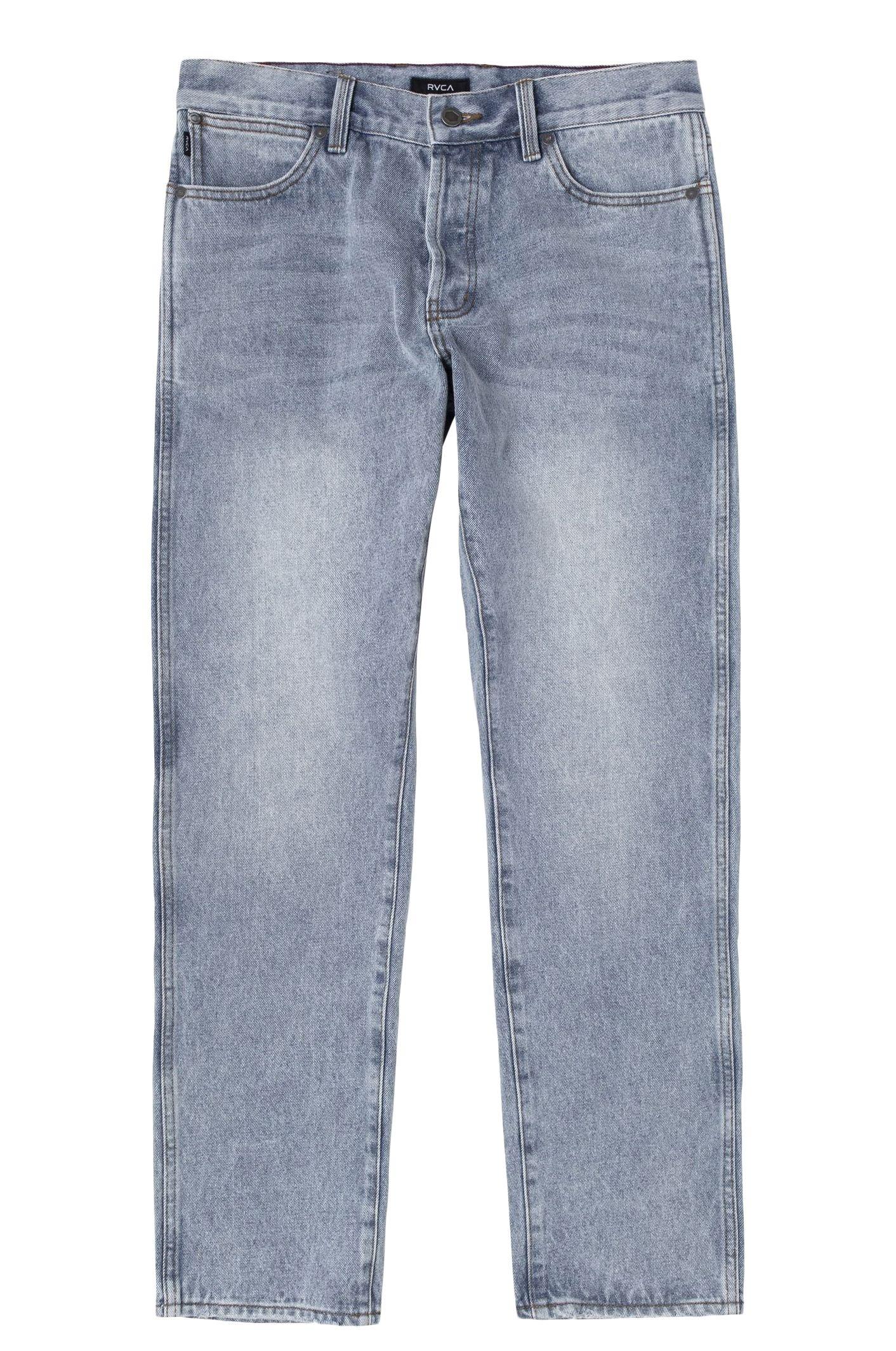 RVCA Pant Jeans WEEKEND DENIM Stone Blue