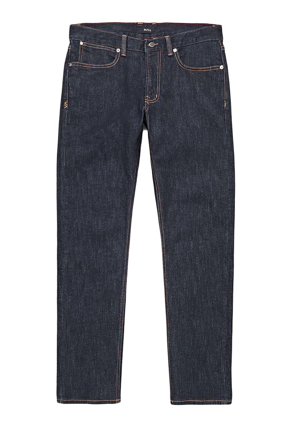 RVCA Pant Jeans DAGGERS DENIM Dark Indigo