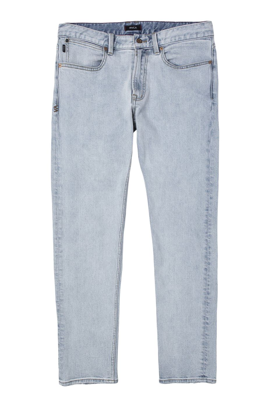 RVCA Pant Jeans DAGGERS DENIM Bleach Party