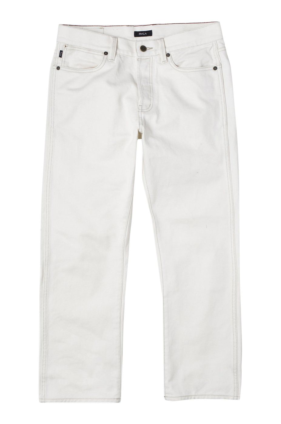 RVCA Pant Jeans NEW DAWN DENIM Off White