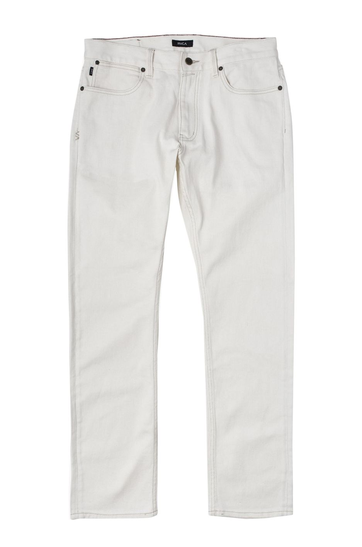RVCA Pant Jeans DAGGERS DENIM Off White