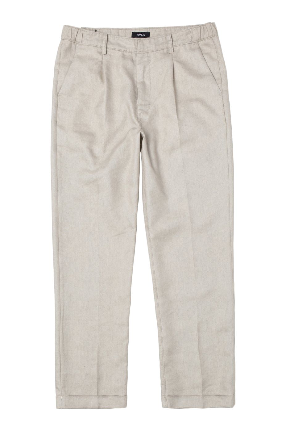 RVCA Pants ALL TIME LOMAX PANT Silver Bleach