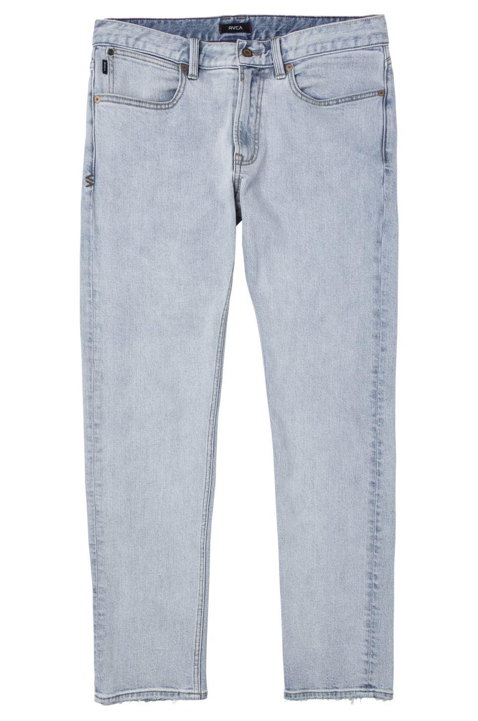 RVCA Pant Jeans DAGGERS Bleach Party