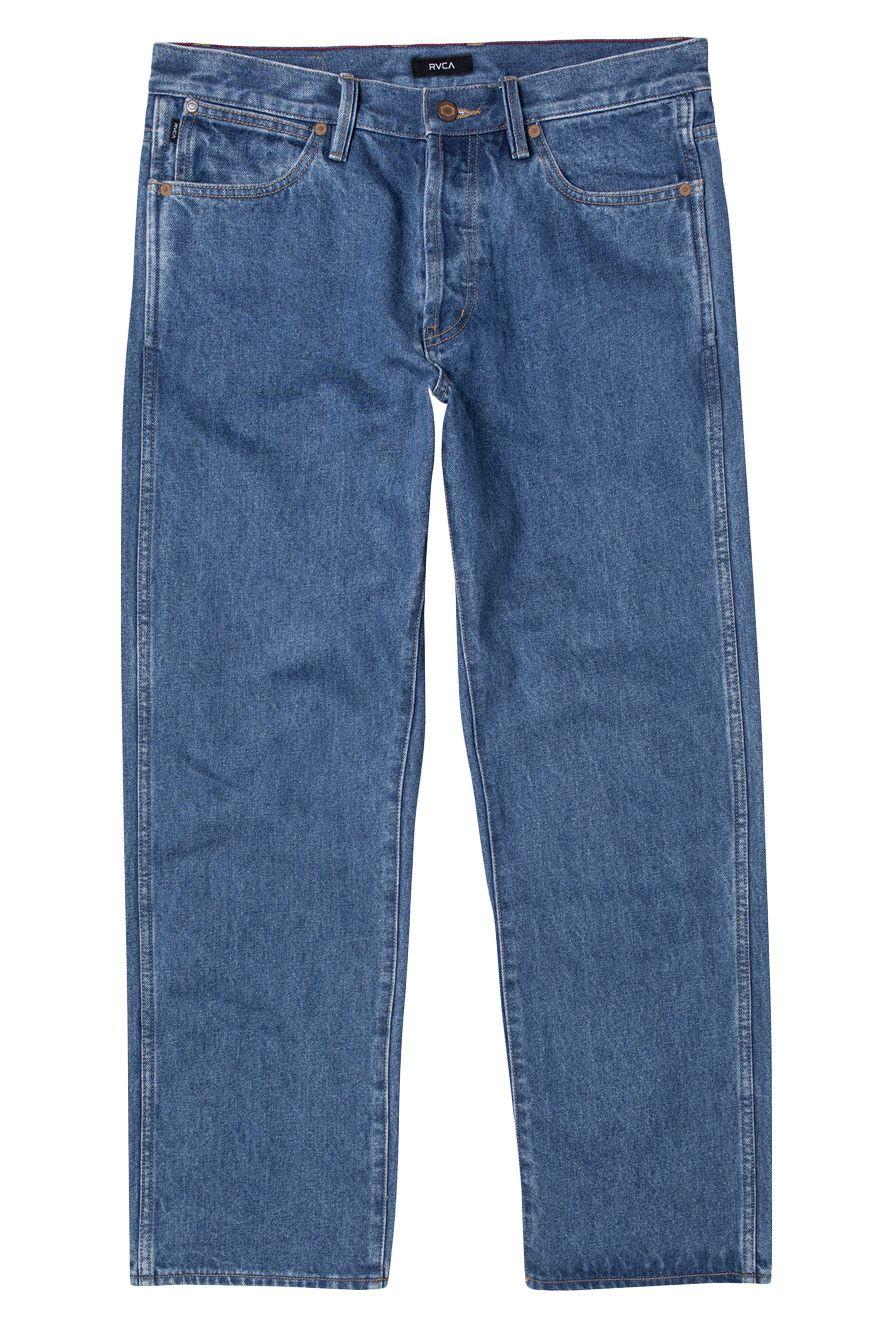 RVCA Pant Jeans NEW DAWN DENIM Vintage Blue