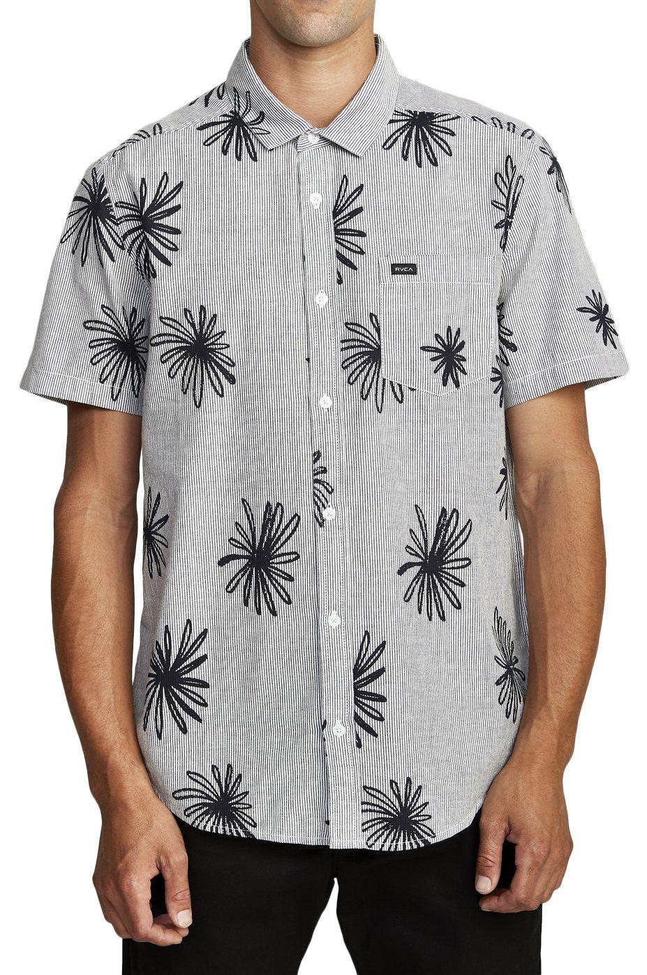 RVCA Shirt WHIRLS SS Black