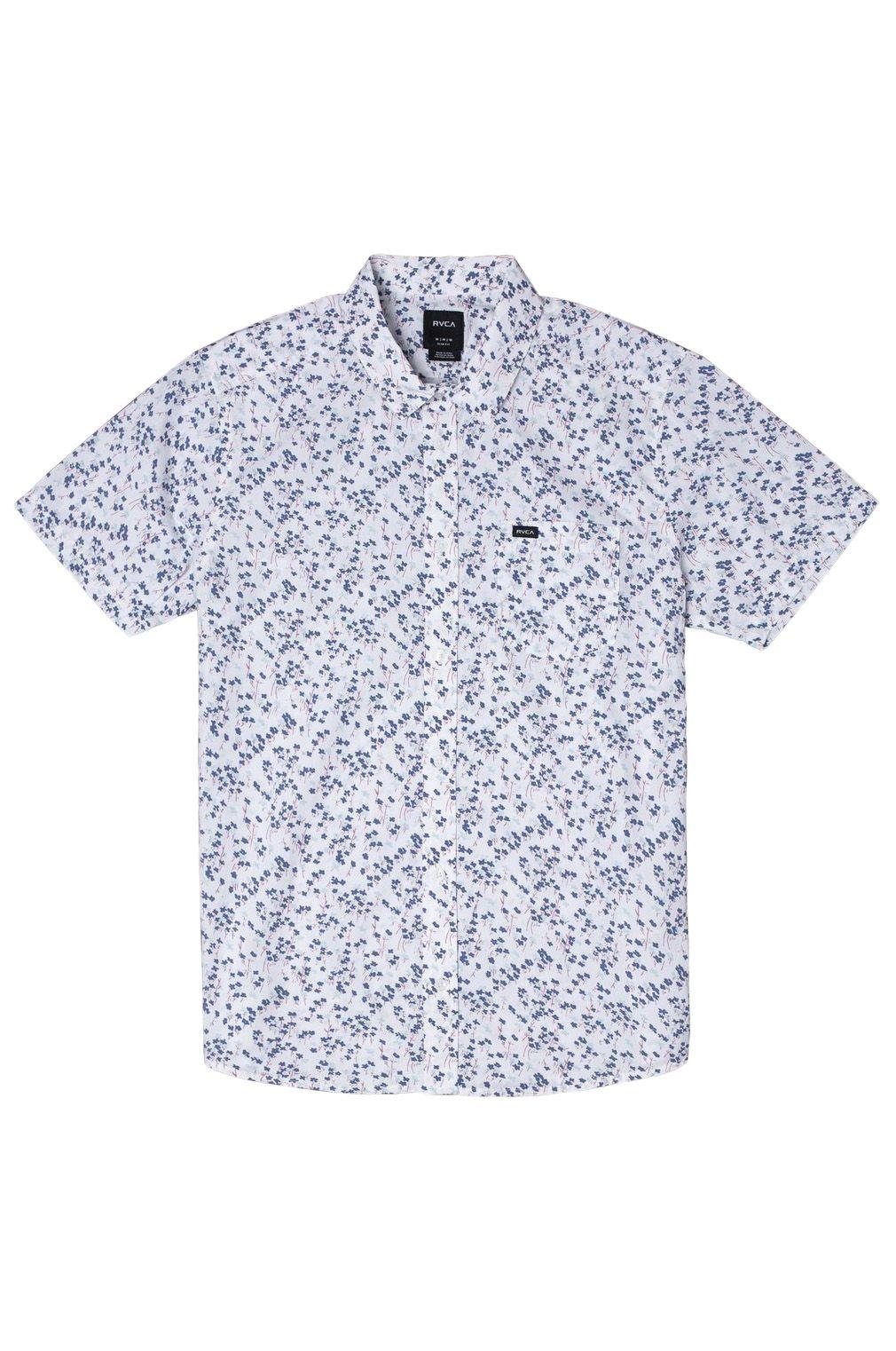 RVCA Shirt ETERNAL SS Antique White
