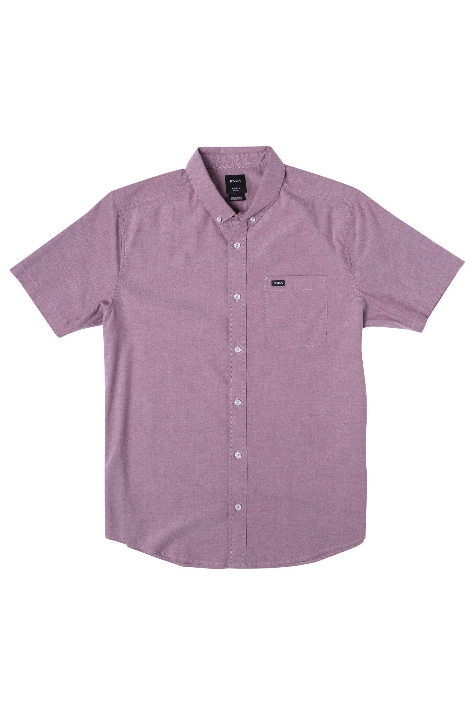 Camisa RVCA THATLL DO STRETCH SS Cranberry