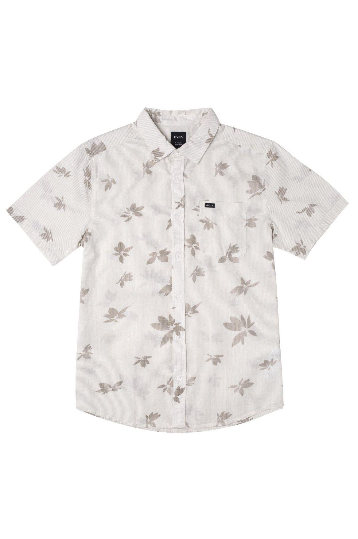 RVCA Shirt ENDLESS SEERSUCKER P Antique White