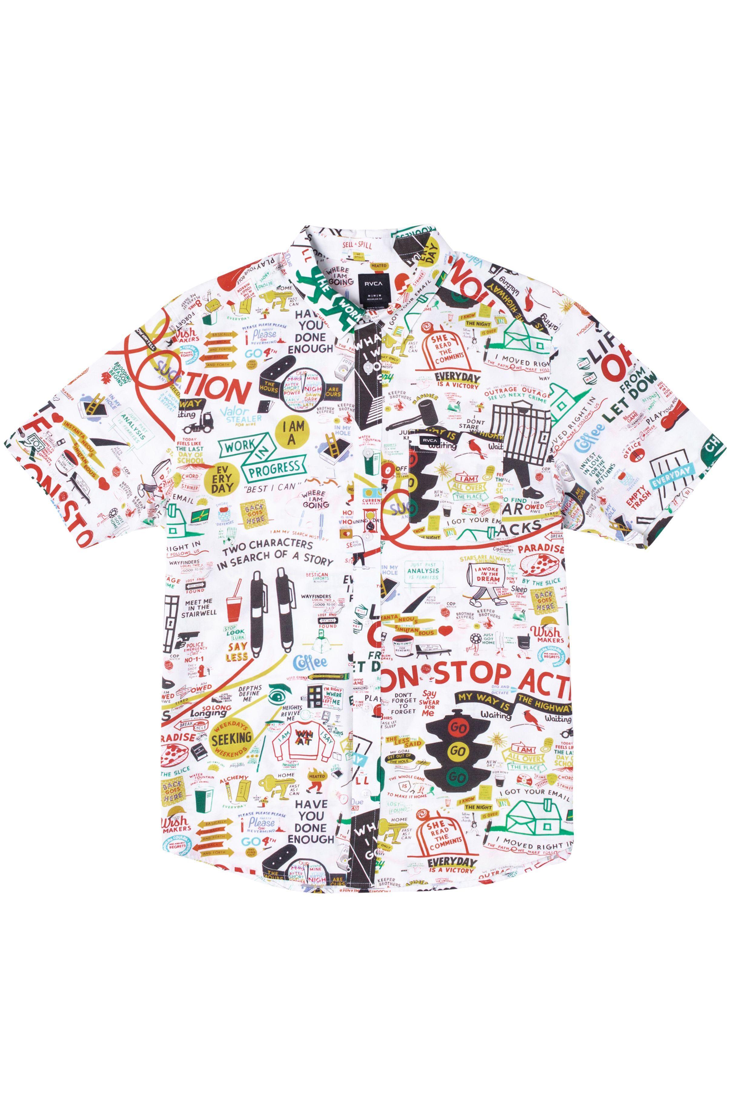 RVCA Shirt ESPO SS ESPO White